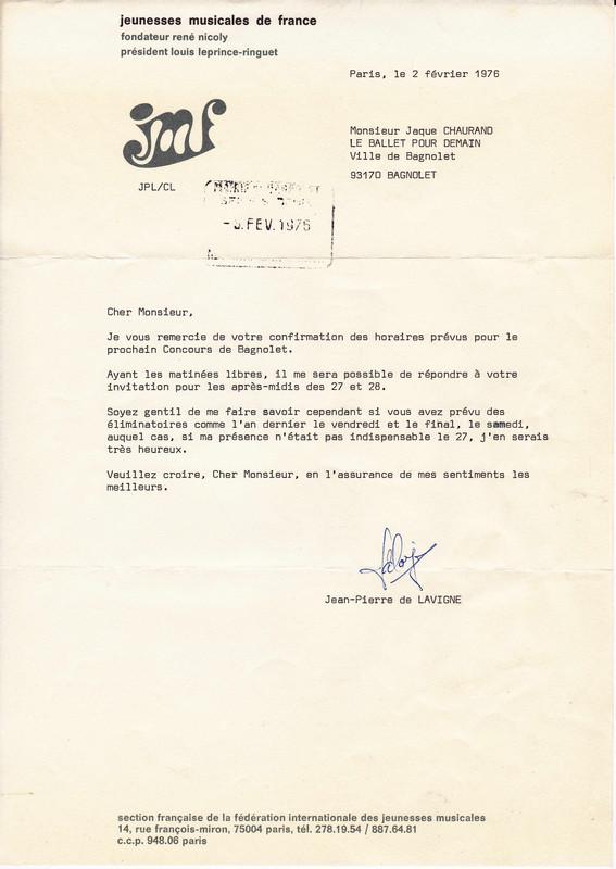 1976 Réunir Un Jury